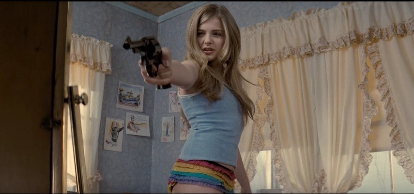 guns chloe moretz - photo #23