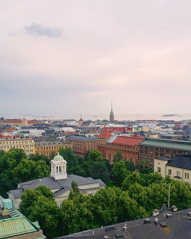 View over Rooftops of Helsinki
