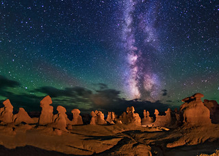 Goblin Valley at Night | by Wayne Pinkston