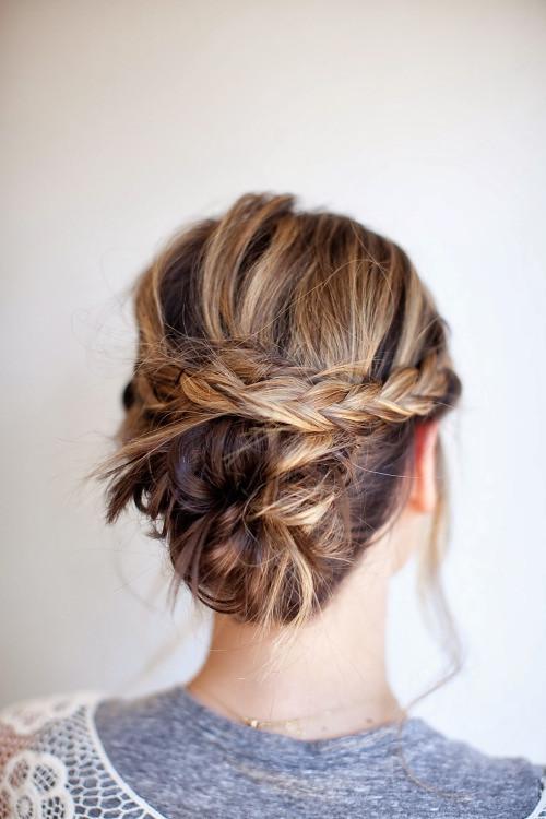 20 Trend Hochsteckfrisuren Für Mittellanges Haar Quelle Flickr