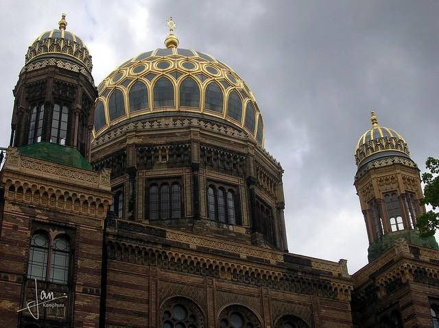 Berlin - Neue Synagoge, Oranienburger Straße