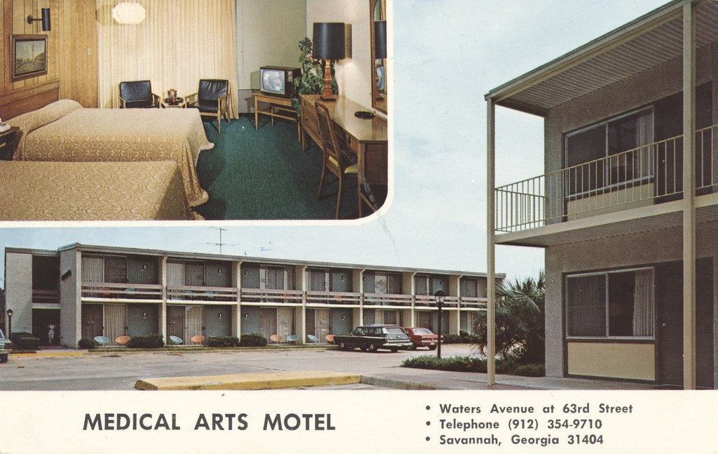 Medical Arts Motel - Savannah, Georgia