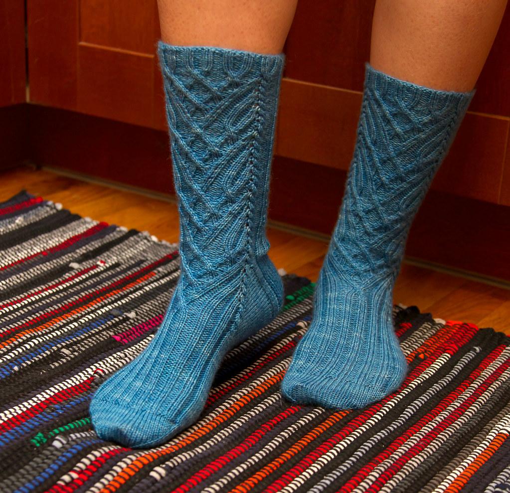 Manoa Sock Pattern Free Knitting Pattern Knitty First Fal