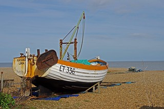 Fishing boat, Aldeburgh Beach | by jelm6