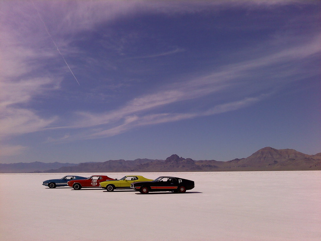 Bonneville Salt Flats | Managed by the BLM as an Area of Cri… | Flickr