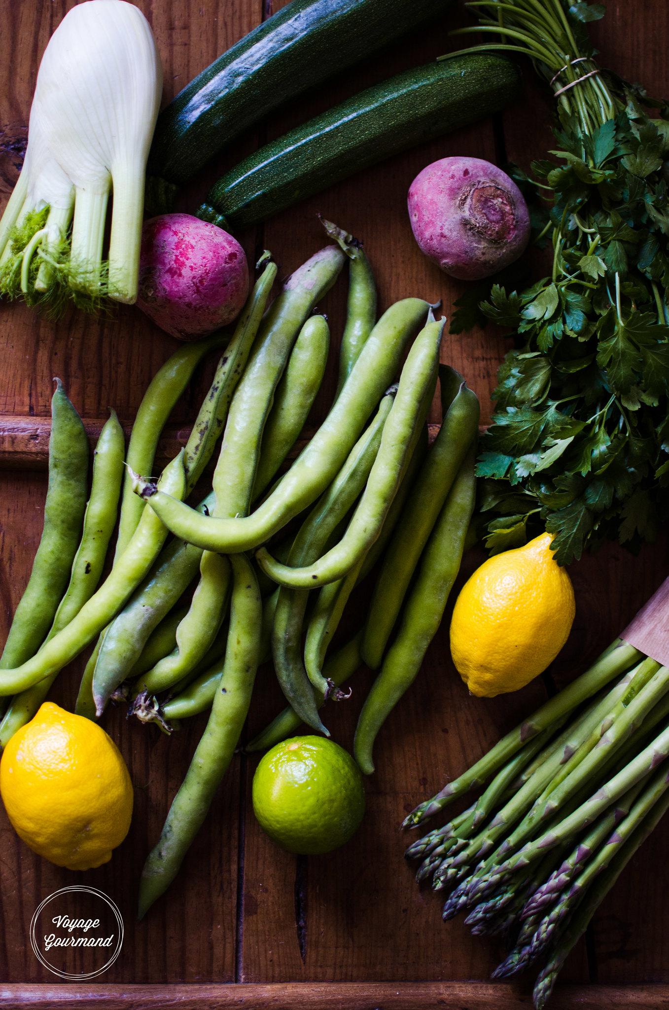 Légumes de saison - Printemps 2016 | Voyage Gourmand