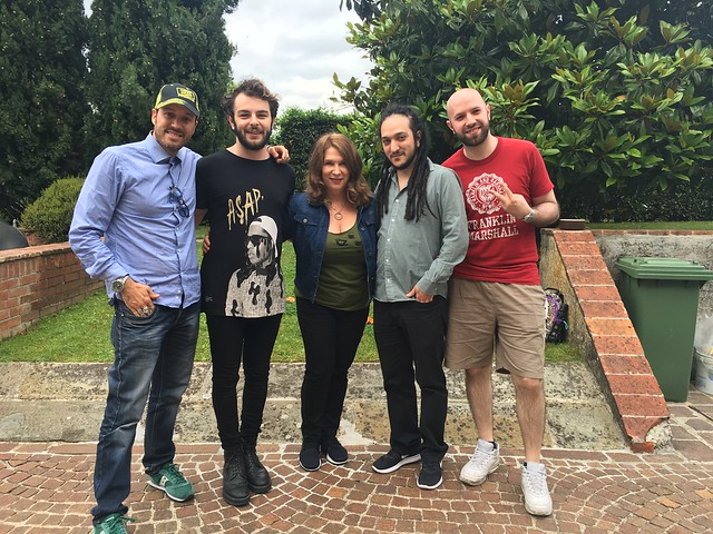 GABESCO EXCLUSIVE PRIVATE SESSIONS 14-15 JUNE / LORENZO FRAGOLA (SONY) - LINDY ROBBINS (KOBALT)
