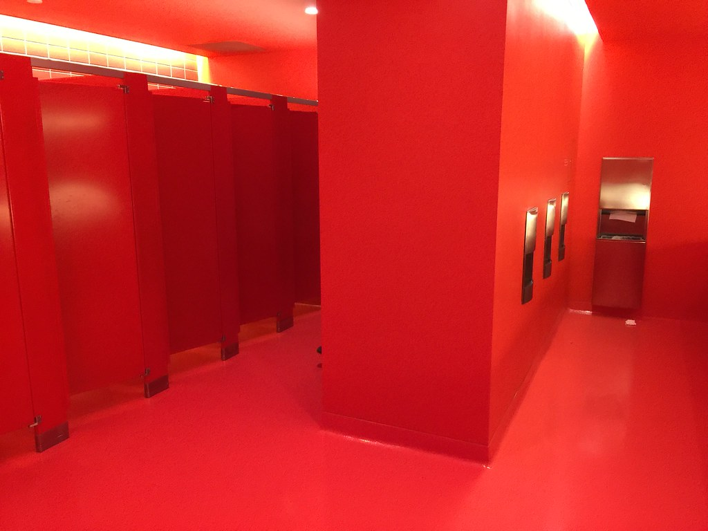 Innovative Red Bathroom Collection