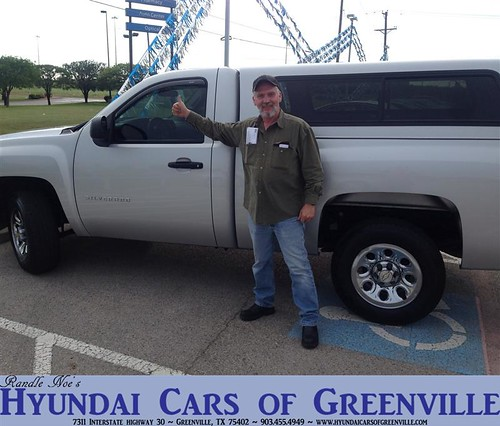 Hyundai Greenville Sc: #HappyAnniversary To Cecil Lloyd On Your 2010 #Chevrolet