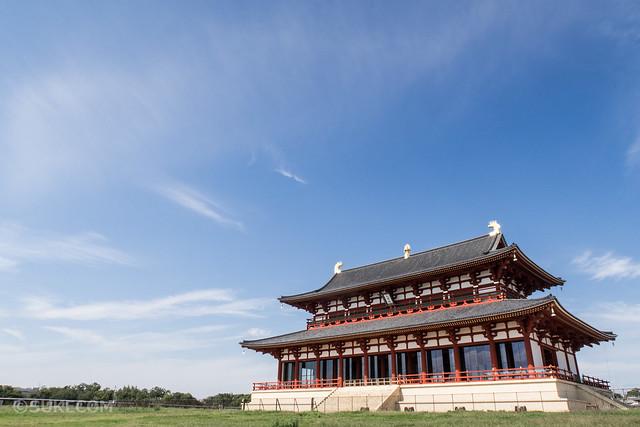 奈良の平城京跡