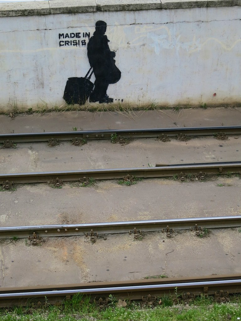 banksy esque in budapest david lurie