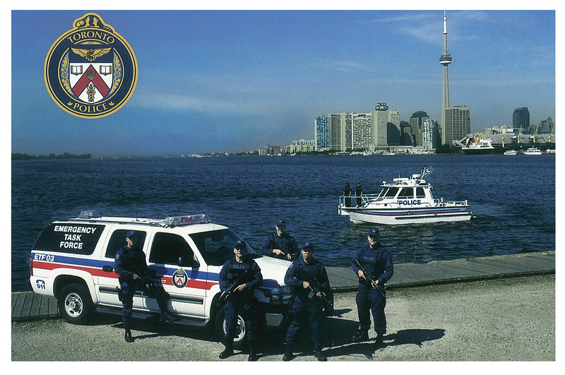 Police - Toronto police Marine and Emergency Task Force