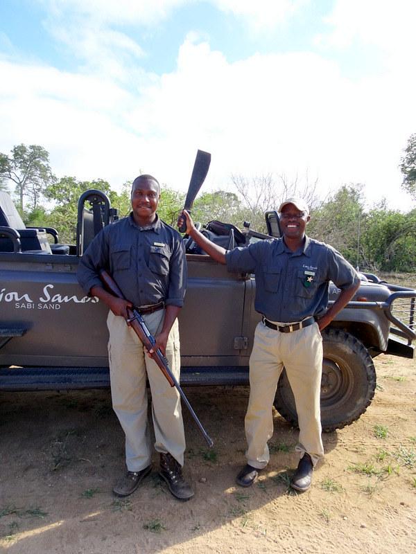 Lion Sands Safari Day 3- Michael and Joe