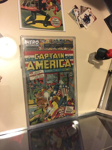 Captain America #1 from 1941 | by Disney, Indiana