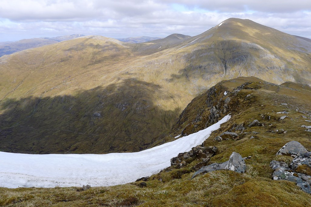 Upper coire of Sgurr Breac