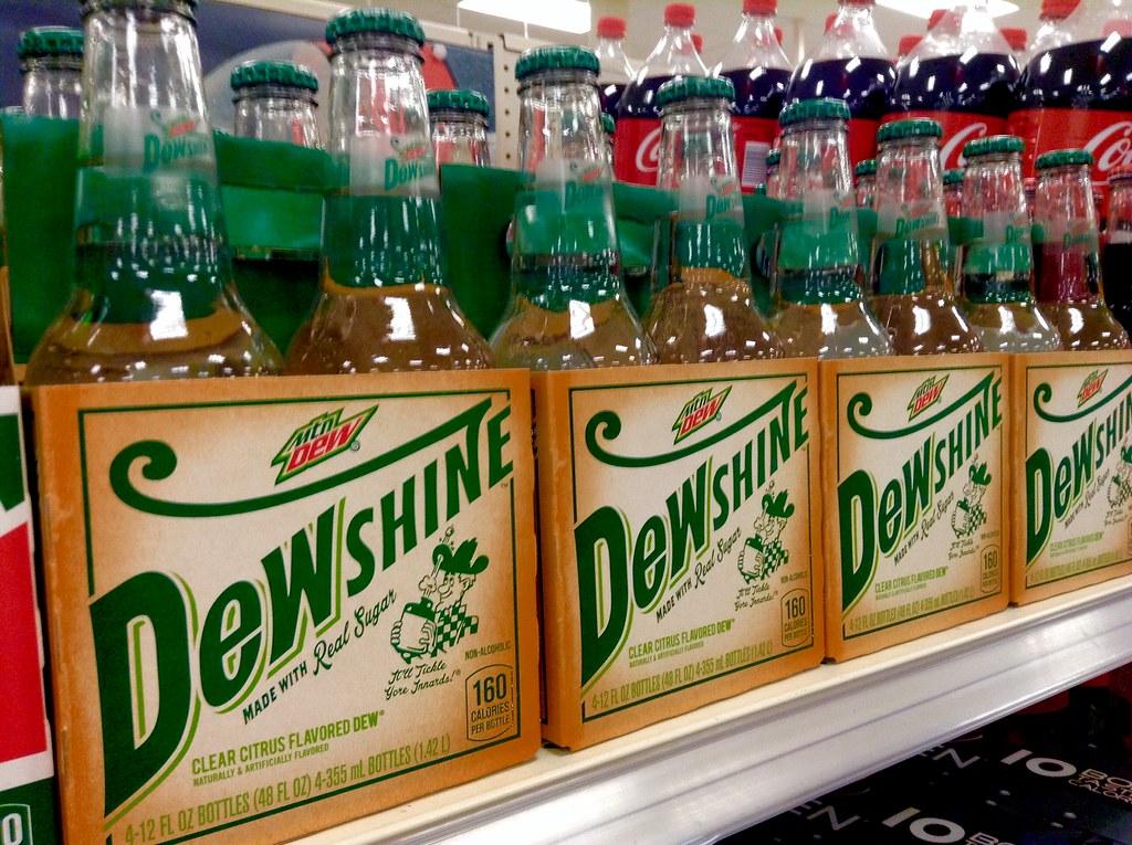Mountain Dew Flavors 2015