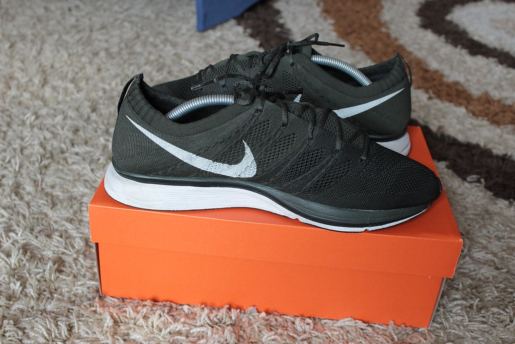 5b34d29d6a7a ... low cost nike flyknit trainer black sequoia by wookash 3ee62 38456