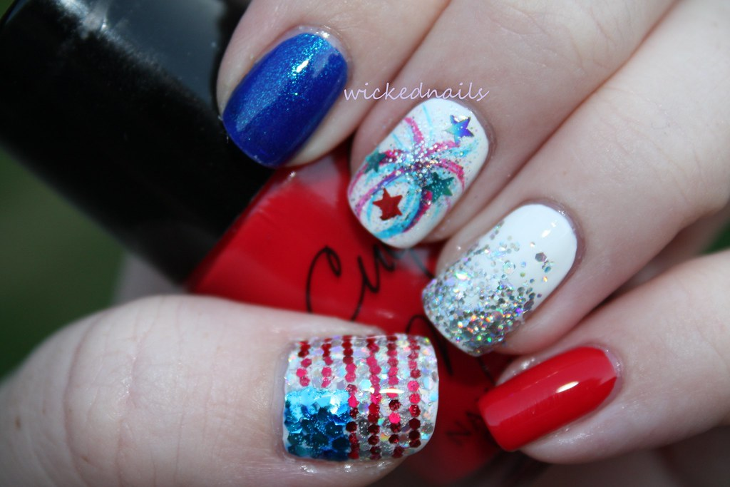 Nail Art Fourth Of July Via Art Gallery Ift1dxuzgf Flickr