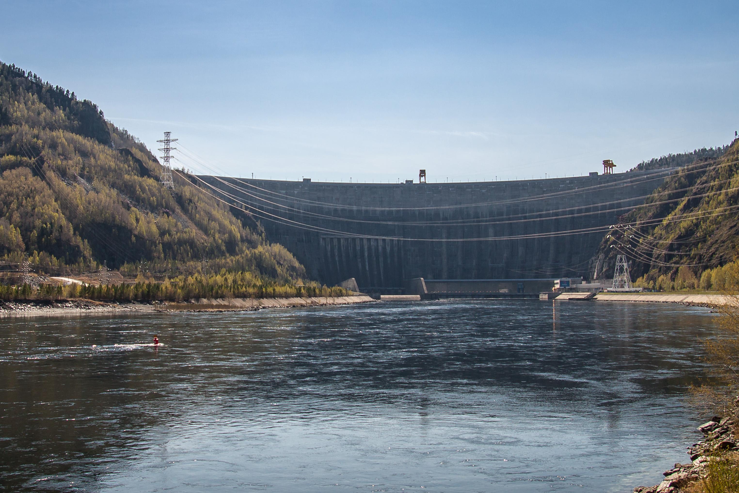 Sayano-Shushenskaya hydroelectric plant