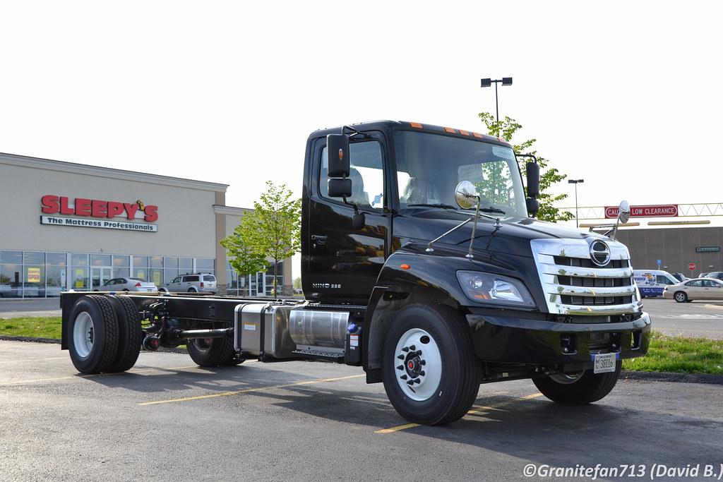 2016 HINO 338 Box truck - straight truck in Riviera Beach, FL, USA