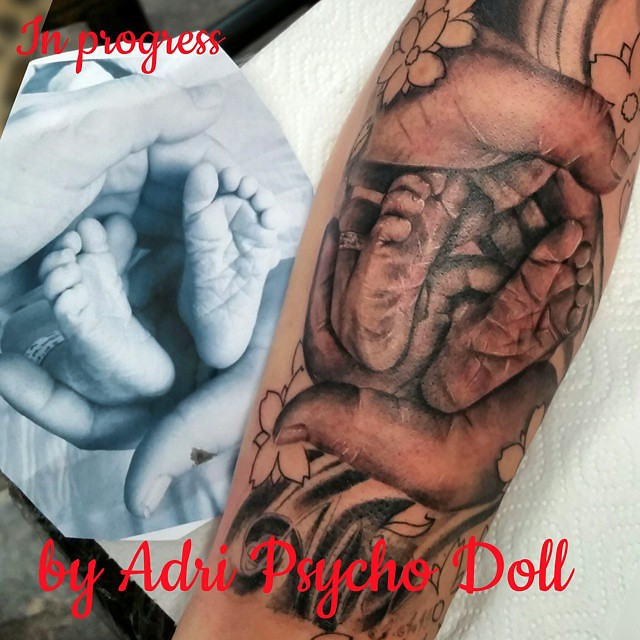 Tattoo Ink Tatuajes Tat Tattedup Hands Foot Babybo Flickr