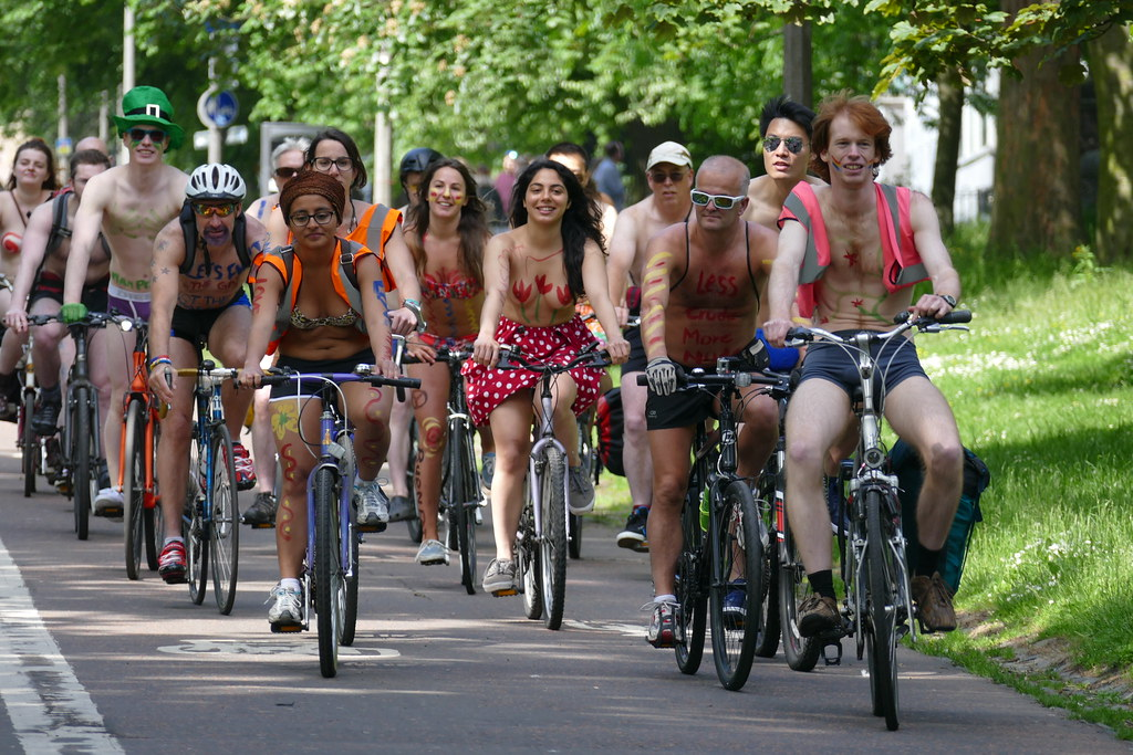 World naked bike ride pictures