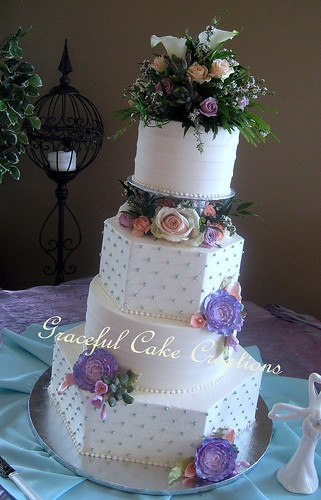 Mint Wedding Cake Designs