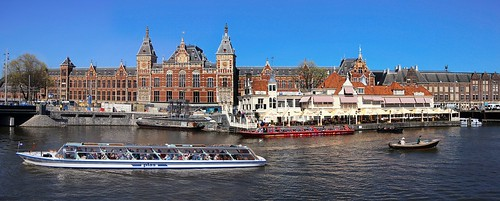 Amsterdam Centraal Station is a national heritage site | by B℮n