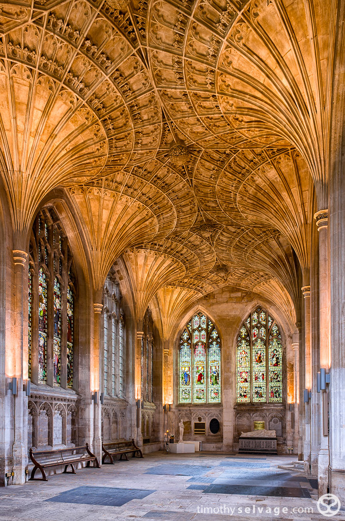 Interior Architecture Peterborough Cathedral Fan Vaulted Ceiling
