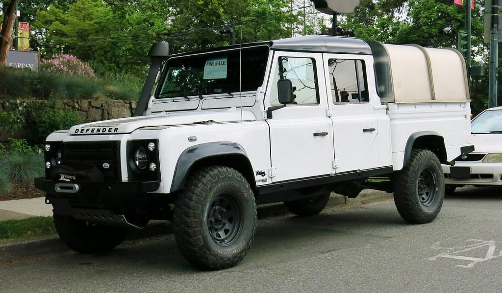 vyr defender double rover cab htm hardbodies medium pick hardbody land pickup landrover truck up