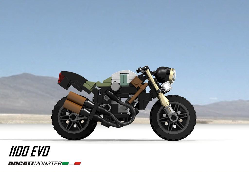 ducati monster 1100 evo custom (2010) | the ducati monster (… | flickr