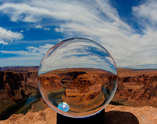 Horseshoe Bend Crystal Ball | by D. Scott Taylor