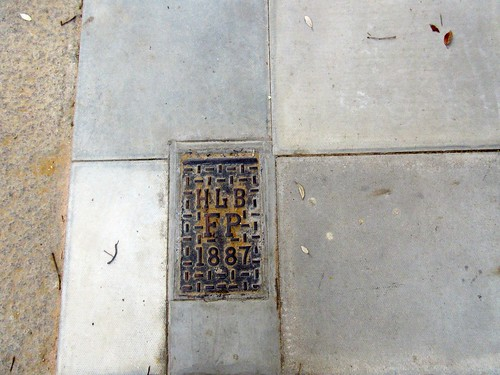 Sidewalk History in HIghgate HLB FP 1887