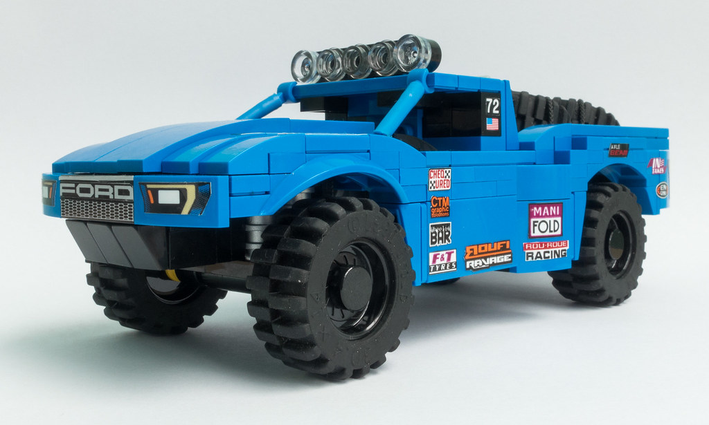 Ford Trophy Truck >> Ford Trophy Truck 72 This Summer I Build A Lego Trophy Tr Flickr