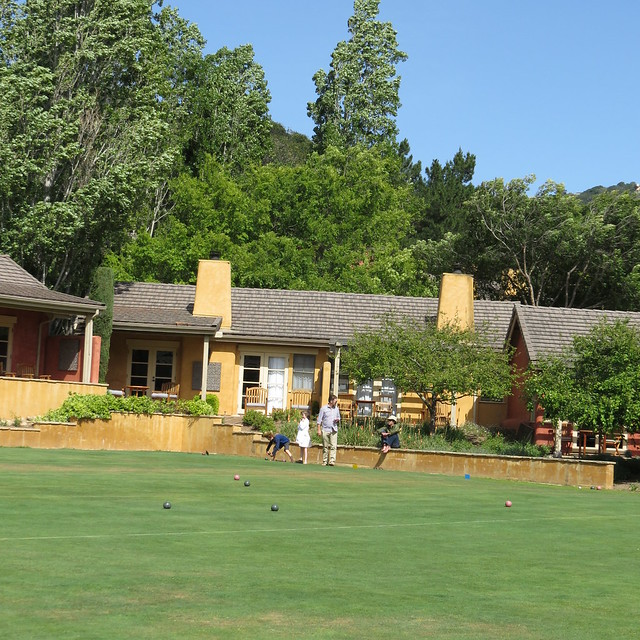 Bocce Ball at Bernardus Lodge & Spa