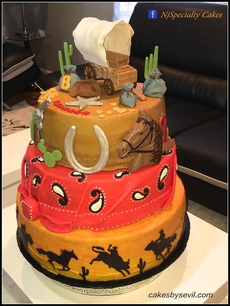 Western Cake Cowboy Cake Specialtycakes Flickr