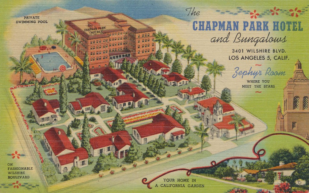 The Chapman Park Hotel & Bungalows - Los Angeles, California