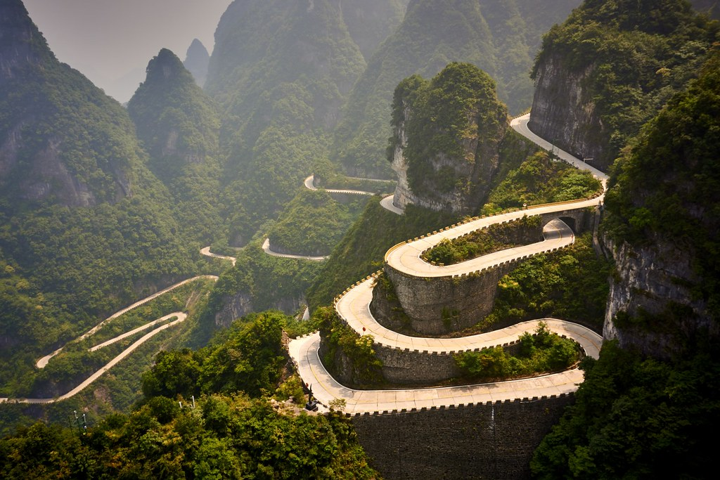 Image result for tianmen roads