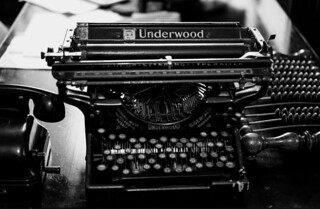 Typewriter (pre-email relict) | by mripp