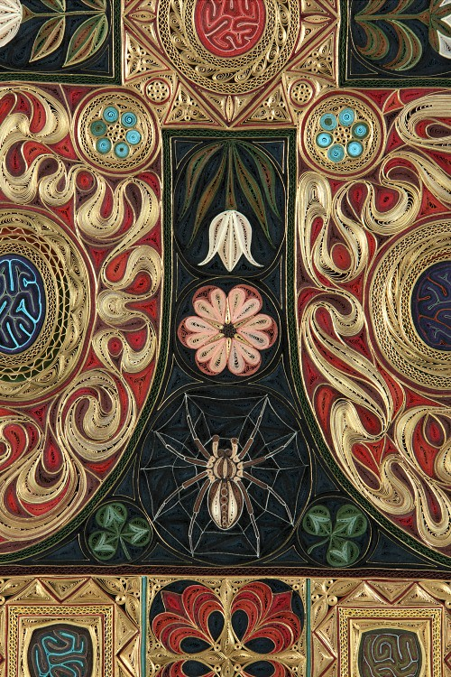 Gospel by Lisa Nilsson - Bottom Quilled Detail