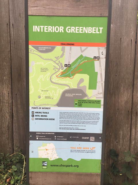 Interior Greenbelt sign