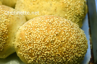 Hops Bread with Sesame Seeds | by Chennette