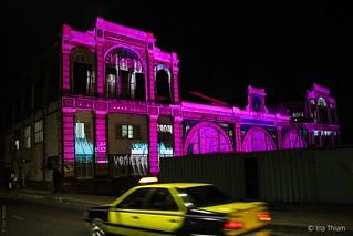 Nuit magique à la gare de Dakar