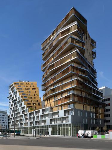 immeuble home 56 avenue de france 13e arrondissement de flickr. Black Bedroom Furniture Sets. Home Design Ideas