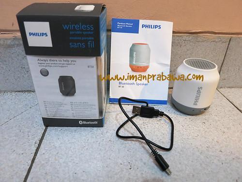 Review Philips BT 50 Bluetooth Speaker 002
