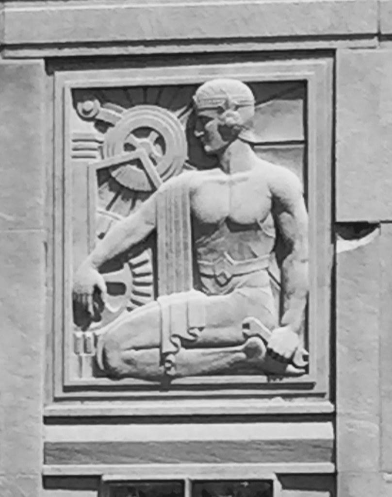 Art-Deco Bas-Relief(s) Sculpture on Ashland Ave. Bridge,ca…   Flickr