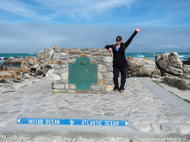 At Cape Agulhas, Africa