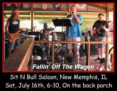 Fallin' Off The Wagon 7-16-16