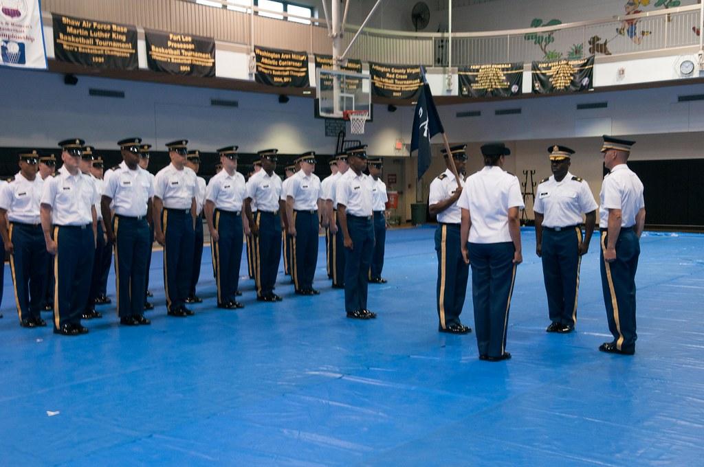 RHCC COC June 2, 2015   Maj  Gerald F  Wynn passes command o