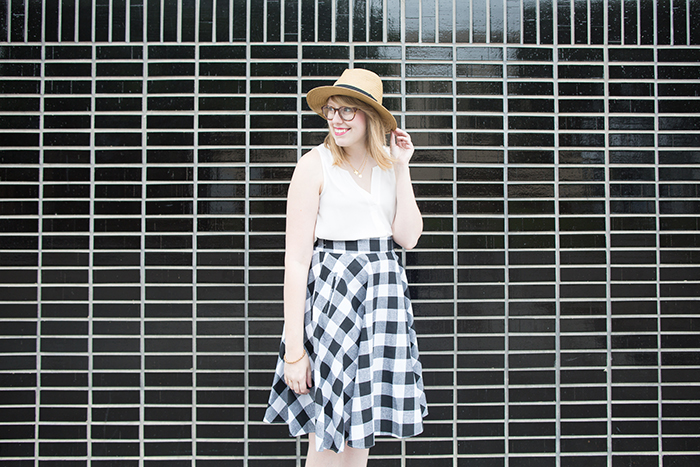cute gingham outfit